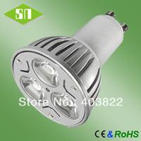 free shipping 3*1w ce rohs saa gu10 led bulb