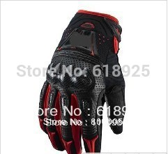 Mountain Bike Motorcross Motorcycle Glove MX ATV Bomber Gloves Vortex Carbon MTB Cycling ENDURO Glove Red
