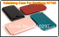 Original Kalaideng ENGLAND series flip leather cover case for Samsung galaxy note2 N7100 kalaideng case,retail box