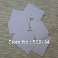 Free Shipping Hot Sale Double Sided Printing Blank  White 0.76mm Thin Inkjet PVC Card For Inkjet Printer,230pcs/lot