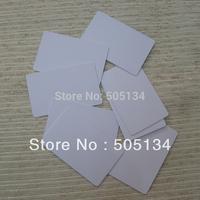 Free Shipping Hot Sale Double Sided Printing Blank  White 0.76mm Thin Inkjet PVC Card For Inkjet Printer,230pcs/lot