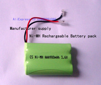 Manufacturer supply Cordless Home Phone Battery AAA 900mAh 3.6V Universal interface