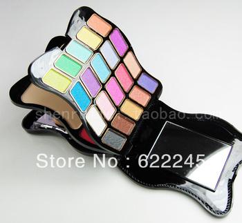free shipping Fashion make-up compact 20 eye shadow 2 blusher 2 powder make-up set
