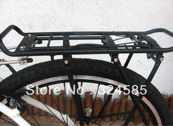 NEW FREE SHIPPING Bicycle V brake Rear Rack Carrier Bike Bag Aluminium Alloy Panniers Rack Fender