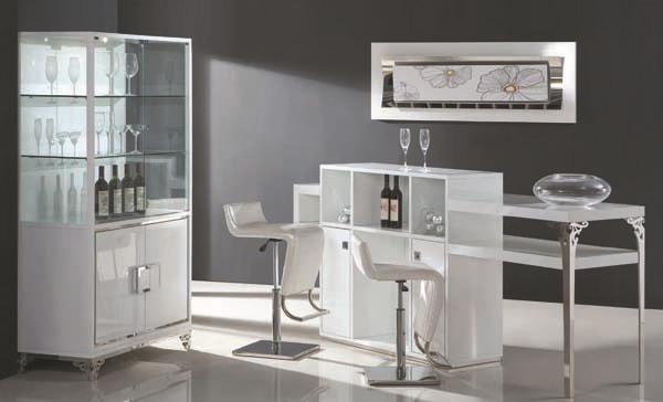 Compra muebles de vino moderno online al por mayor de - Mueble italiano moderno ...