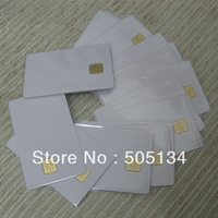 Bulk Access Control White Blank PVC SLE 4428 Chip Contact IC Smart Card 200pcs/lot