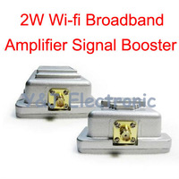 EMS DHL wholesale 7PCS/lot 2W Wi-fi Indoor Broadband Amplifier Booster 2.4G 802.11b/g Wireless signal amplifier booster 2000mW