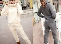 2013 fashion korea style  women's sweater suit