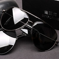Male sunglasses male sunglasses large polarized sunglasses driving glasses myopia sunglasses