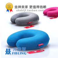Free shiiping!Slow rebound neck pillow  u shaped memory pillow  for  travel  health care drive 1251