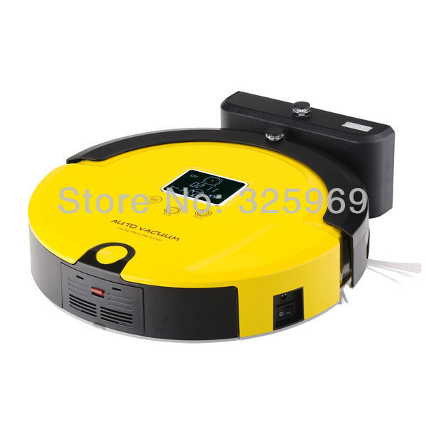(EMS Free To All Countries) Rechargeable Robot Cleaner Battery Powered, Long Working Time, UV Sterilzie Cleaning Vacuum(China (Mainland))