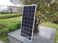 100w solar panel for 12V system, monocrystalline, photovoltaic panel, solar module
