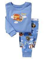 Child Cartoon Pajama Set 7277 In stock Children Cartoon Long Sleeve Pajama Retai Baby Sleeppants +long sleeve Underwears sets