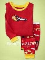 Child Cartoon Pajama Set 7258 In stock Children Cartoon Long Sleeve Pajama Retai Baby Sleeppants +long sleeve Underwears sets