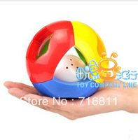 free shipping,Colorful child baylor COMBO bell ball rattles, educational baby toys ,boys and girls toys,
