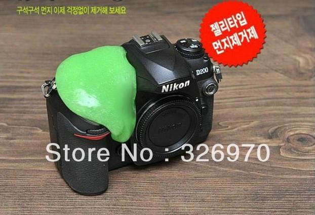 Magic universal clean plastic magic to dust rubber the decontamination plastic the magic glue SLR camera clean plastic(China (Mainland))