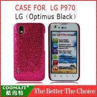 Free shipping 1PCS 100%  PC Case For  LG P970 (Optimus Black) New Arrivel mobile phone Dirt-resistant case
