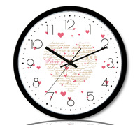 free shipping Fashion clock quartz clock mute wall clock child real fashion clock rustic pocket watch