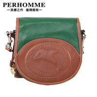 Perhomme2012 women's handbag candy color cowhide messenger bag small bag mini shoulder bag shoulder bag