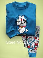 Child Cartoon Pajama Set 7251 In stock Children Cartoon Long Sleeve Pajama Retai Baby Sleeppants +long sleeve Underwears sets