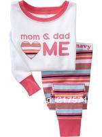 Child Cartoon Pajama Set 7296 In stock Children Cartoon Long Sleeve Pajama Retai Baby Sleeppants +long sleeve Underwears sets