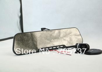 Free shipping NEW DV300L 2.7 inch 1280*720P Car Black Box Car DVR Camera+car rear view camera+ G-Sensor with Dual Cameras