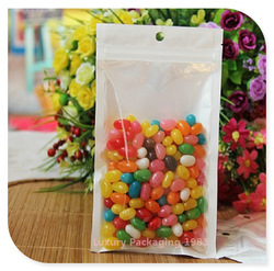 Size 10*18cm Zip Lock Plastic Bag Reclosable Poly Bags Hanging Hole Food Grade Thickness 0.16mm 300pcs/lot Free Shipping(China (Mainland))