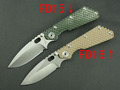 FREE shipping Promotion Sale New CNC G10 Handle Strider SMF SNG Folding Pocket Knife (FD15 or FD16)(China (Mainland))
