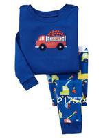 Child Cartoon Pajama Set 7299 In stock Children Cartoon Long Sleeve Pajama Retai Baby Sleeppants +long sleeve Underwears sets