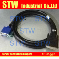 C2T Cable KVM 06P6210 06P4792 00N6954 00N7004 for X330 X335 server , Plastic packaged , in stock , 1 year warranty