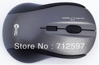 2.4G wireless USB jm-7007 4D optical mouse grey color 1600 --2000 DPI for laptop and PC