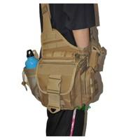 Messenger bag tactical bag pockets Black / Army Green / Khaki / Camouflage free shipping