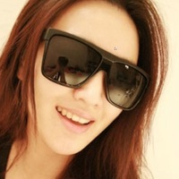 2013 personality big box vintage sunglasses wind fashion elegant box sunglasses