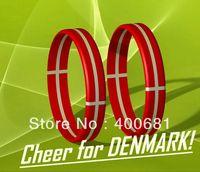 Promotional DENMARK Flag Stripe Silicone Wristband/Bracelet