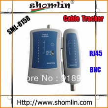 Shomlin network cable and BNC cable connection tester with 8 pairs of LED display factory directly sales(China (Mainland))