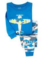 Child Cartoon Pajama Set 7303 In stock Children Cartoon Long Sleeve Pajama Retai Baby Sleeppants +long sleeve Underwears sets