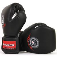 Freeshipping!!! Good elasticity Deformation Breathable Boxing gloves set sanda glove fight gloves elastic deformation