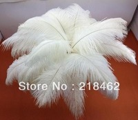 """wholesale 100pcs/lot 18-20"""" White Ostrich Feather Plume FREE SHIPPING wedding decoration"""
