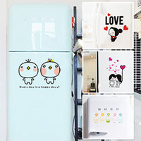 New arrival kitchen cabinet toilet stickers fashion refrigerator stickers 1 set  OF 4PCS,FREE SHIPPING