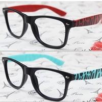 Fashion vintage big black eyeglasses frame meters  myopia non-mainstream plain mirror glasses