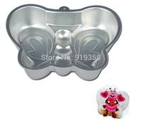 2013 Free Shipping Butterfly Shaped Cake Pan Bake Tin Cake Decoration Tool  Metal Cake Mould Cake Baking Pan