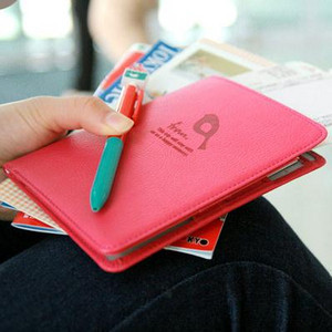 Free shipping Passport bag documents bag short design multifunctional travel passport holder passport cover wallet(China (Mainland))