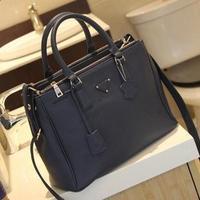 Free shipping Hot sale 2013 color block bag casual fashion handbag messenger bag women's bags