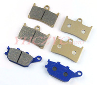 Free shipping for YAMAHA YZF R1 2004 2005 2006 front and rear brake pads set