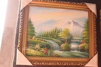 Free Shipping Framed 100% Hand Painted Decorative Mordern Art  Oil Painting on Canvas FA01PL1057