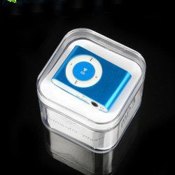 Cheap mini Clip mp3 player support 8GB micro sd card with Gift box earphone usb cable hot sales(China (Mainland))