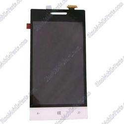 For HTC Windows Phone 8S A620e White LCD Screen And Digitizer Touch Screen Assembly(China (Mainland))