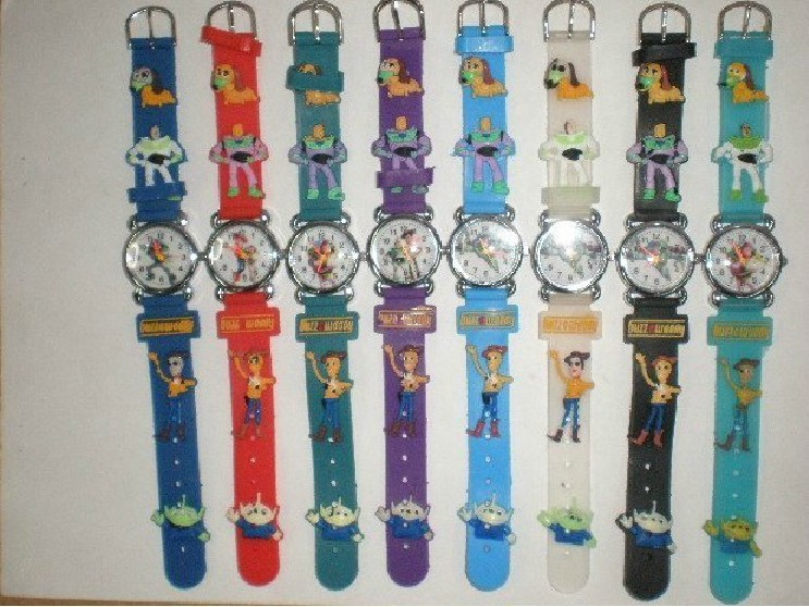 Free Shipping Wholesales NEW Cartoon Toy Story 10pcs/lot Good Gift kids watch(China (Mainland))