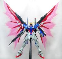 FREE SHIPPING Self assambled Kit, GUNDAM  gundoom model TT GG Destiny GUNDAM EXTREME BLAST MODE +wings of light MG 1:100 Robots
