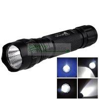 $9.9!! Promotion!! Lowest Price !!Ultrafire WF-501B Cree XML T6 1200 Lumen 5-Mode LED Flashlight, Free shipping